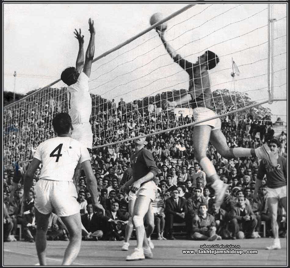 India and Iran volleyball qualifier  Olympic 1964  Tokyo 1964 Olympic Volleyball India