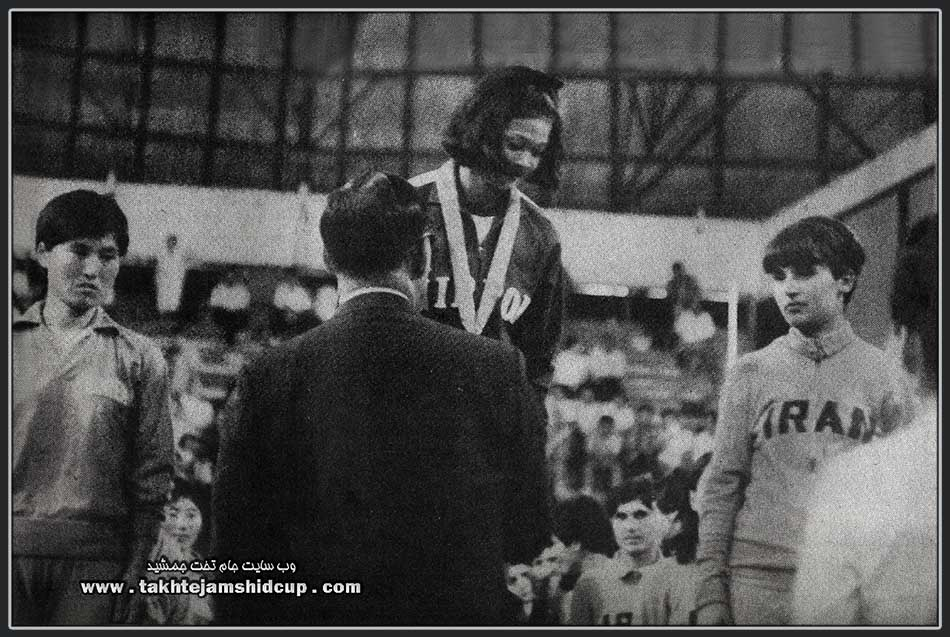 Women's Volleyball podium Asian Games 1966