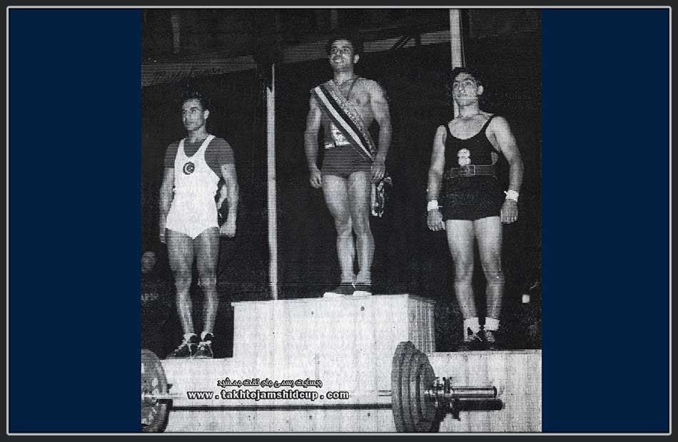 محمود نامجو 1951 World Weightlifting Championships Bantamweight 56 kg