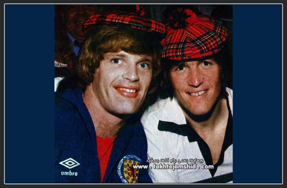 KENNI DAGLISH & GORDON MCQUEEN SCOTLAND 1978