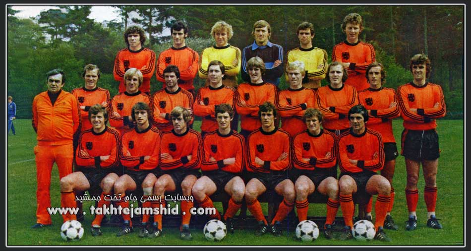 netherlands national team 1978