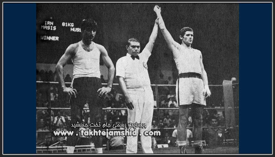ماسیس هامبارسومیان Light heavyweight Boxing at the 1974 Asian Games